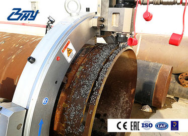 Pneumatic Pipe Cutting And Beveling Machine Cold Cutting Quick Installation