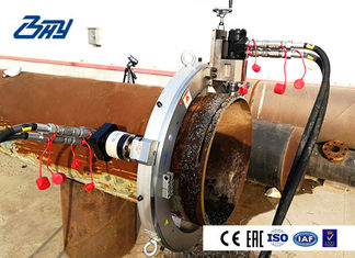 Pneumatic Pipe Cutting And Beveling Machine Split OD Mount for Stainless Steel Pipe