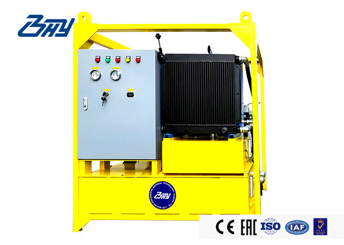 Mobile Diesel Hydraulic Power Unit Explosion Proof 300 L 2600 R/min