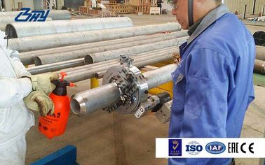 China Auto Feed Electric Pipe Cutting And Beveling Machine , Steel Pipe Beveler factory