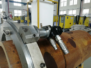 China Modular Design Cold Pipe Cutting And Bevelling Machine Customized Size factory
