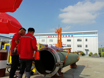 China Split Frame Portable Pipe Cutting And Beveling Machine Easy Mounted On Pipeline factory
